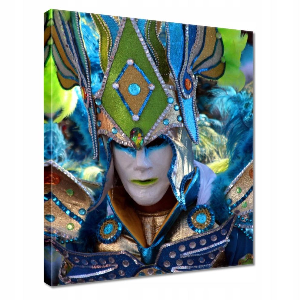 Obrazy na płótnie 40x50 Strój na karnawał maska