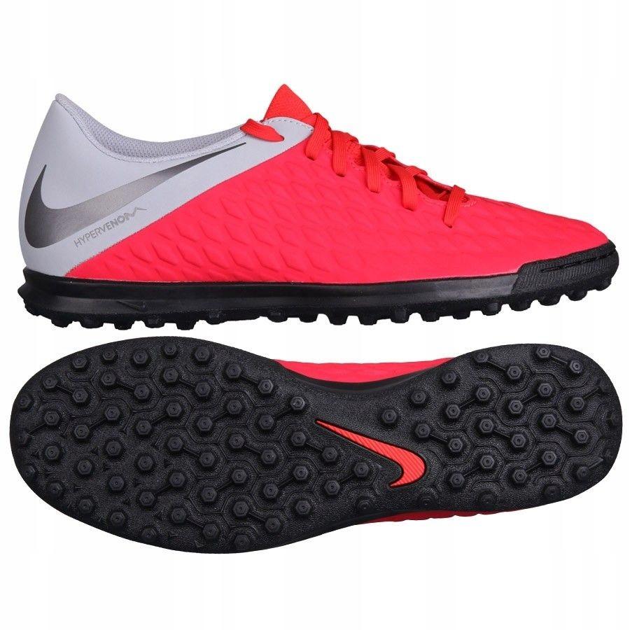 Buty Nike Hypervenom 3 Club TF AJ3811 600 - CZERWO