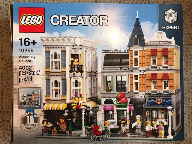 Lego Creator Expert 10255 Plac Zgromadzeń 7434983857 Oficjalne