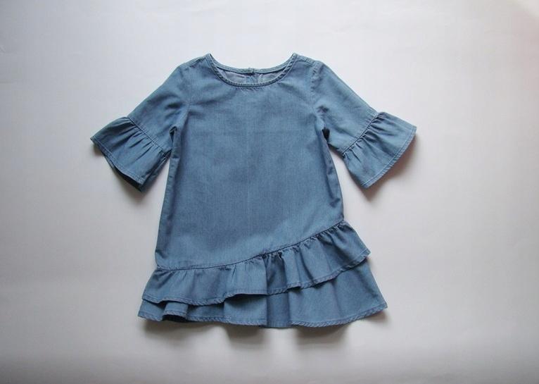 GAP śliczna sukienka jeans roz.92 18-24cm