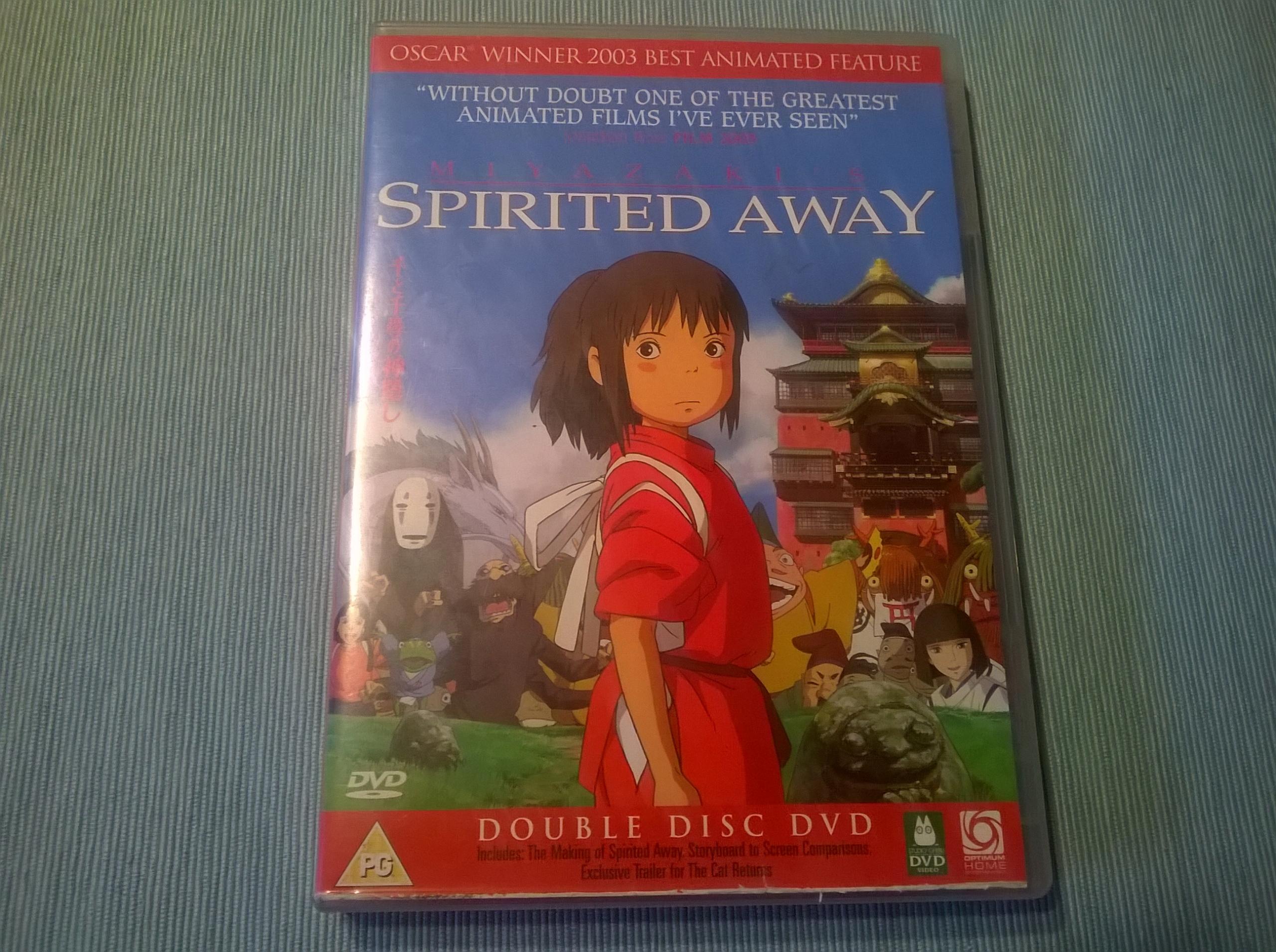 SPIRITED AWAY - W KRAINIE BOGÓW (2001) *2xDVD