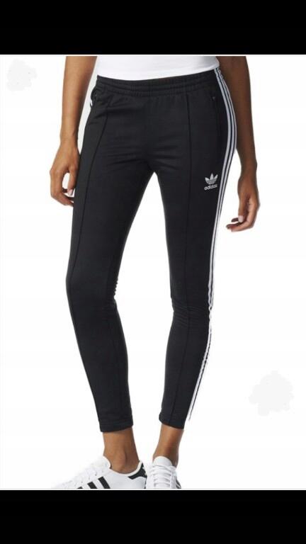 Spodnie ADIDAS cigarette pants r.S