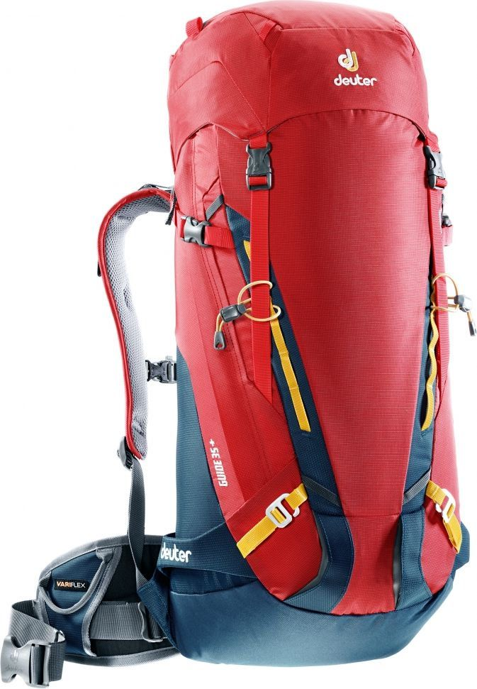 Plecak wspinaczkowy Guide 35+ Fire/Arctic - Deuter