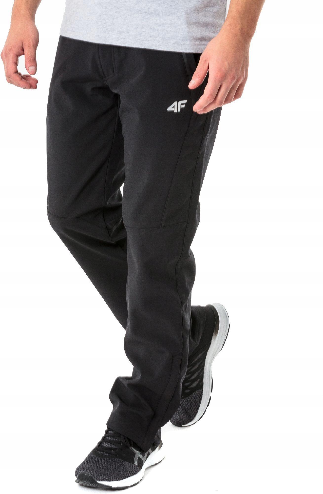 4f Spodnie softshell męskie H4L18-SPMT002 r. XXL