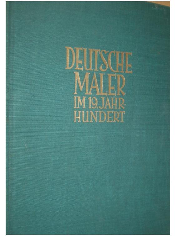 Kurth - Deutsche Maler im 19. Jahrhundert (1927)