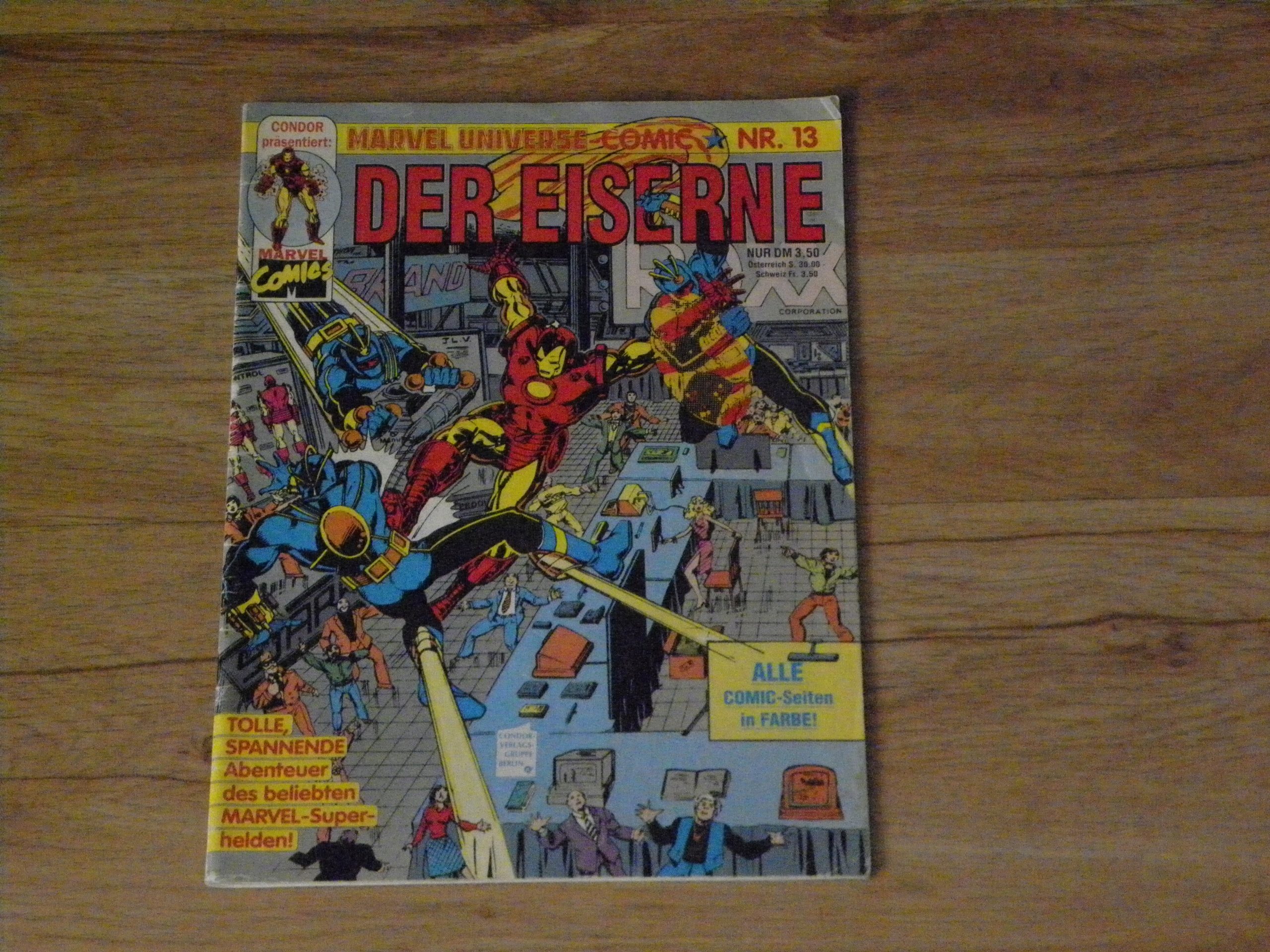 Der eiserne, Marvel Comics, 13/92