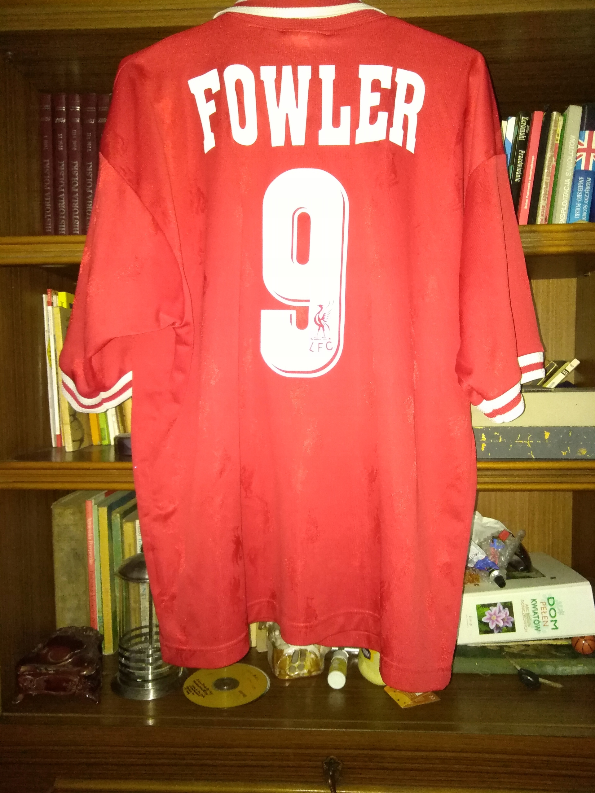 Koszulka FC Liverpool Robbie Fowler nr 9 XL/XXL