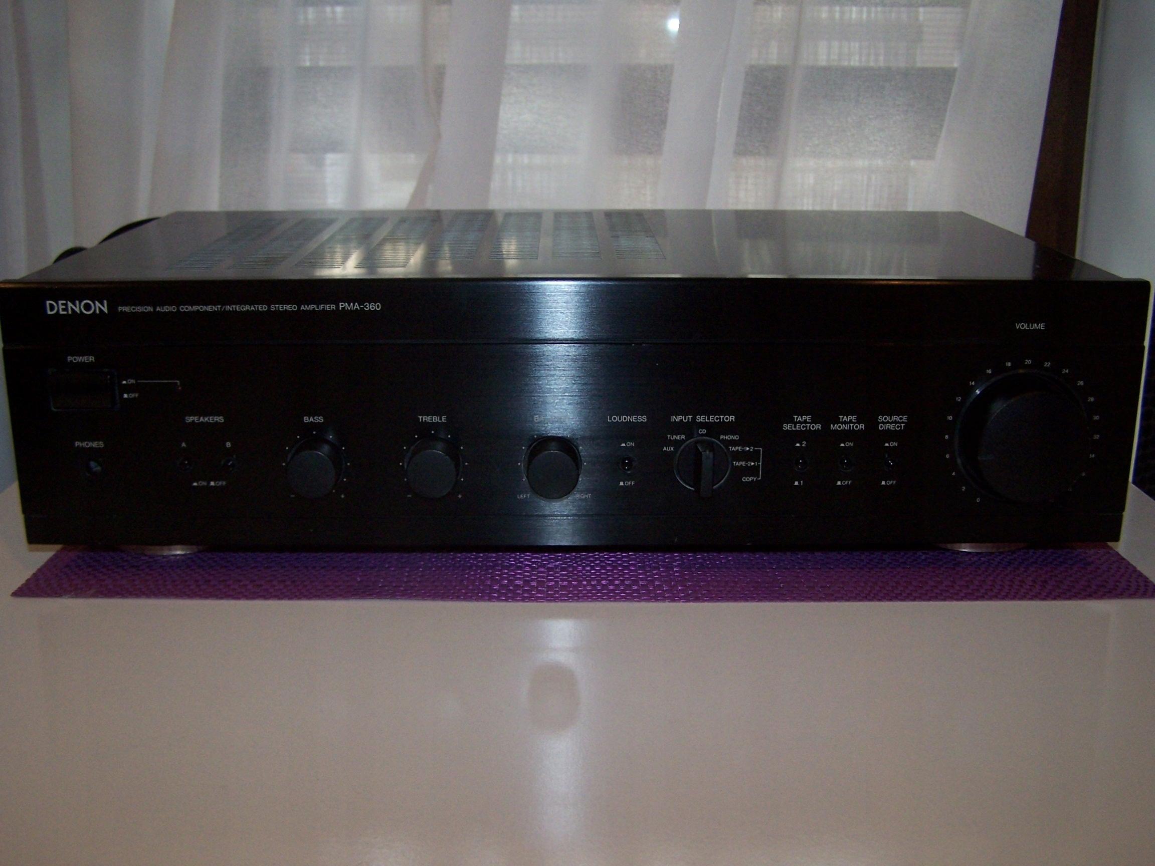 DENON PMA-360 wzmacniacz 2x65W