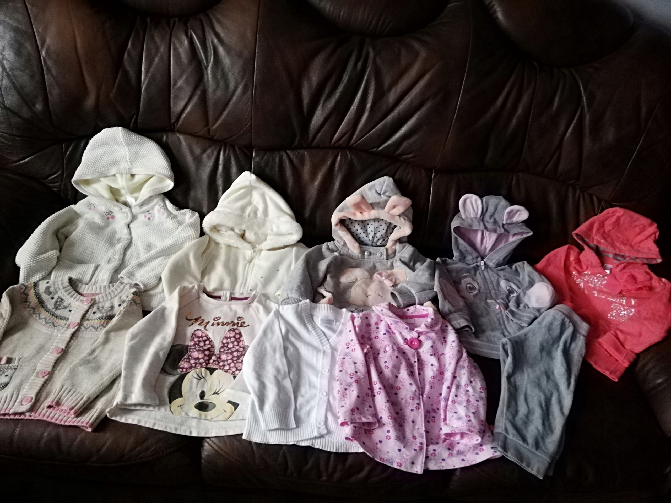 Paka ubrań 40szt dla dziewczynki 12-18 mies. BDB