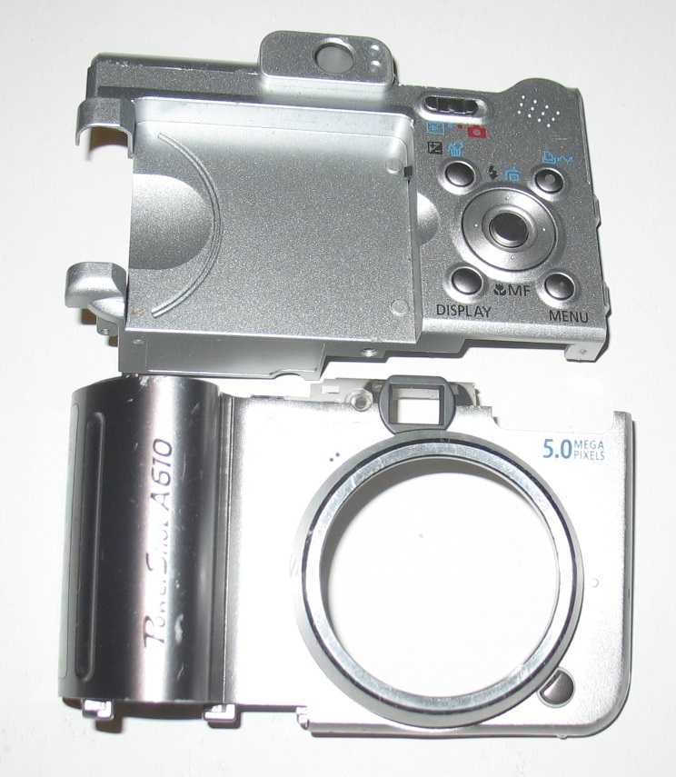 Canon A610 A620 obudowa przód + tył