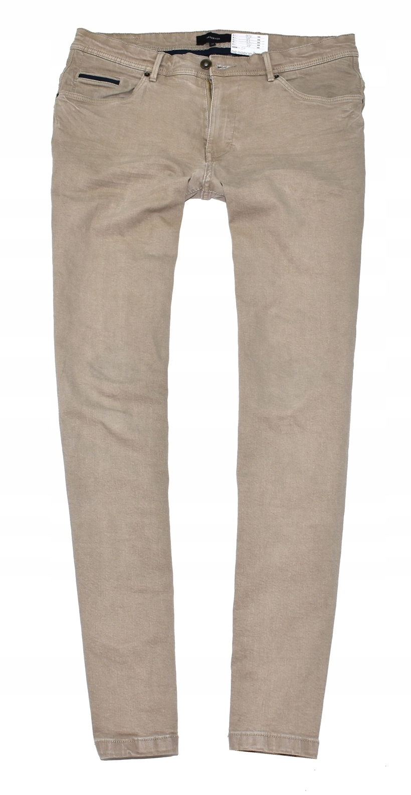 MM 234 RESERVED_ORYGINAL BEIGE CASUAL PANTS_34/32