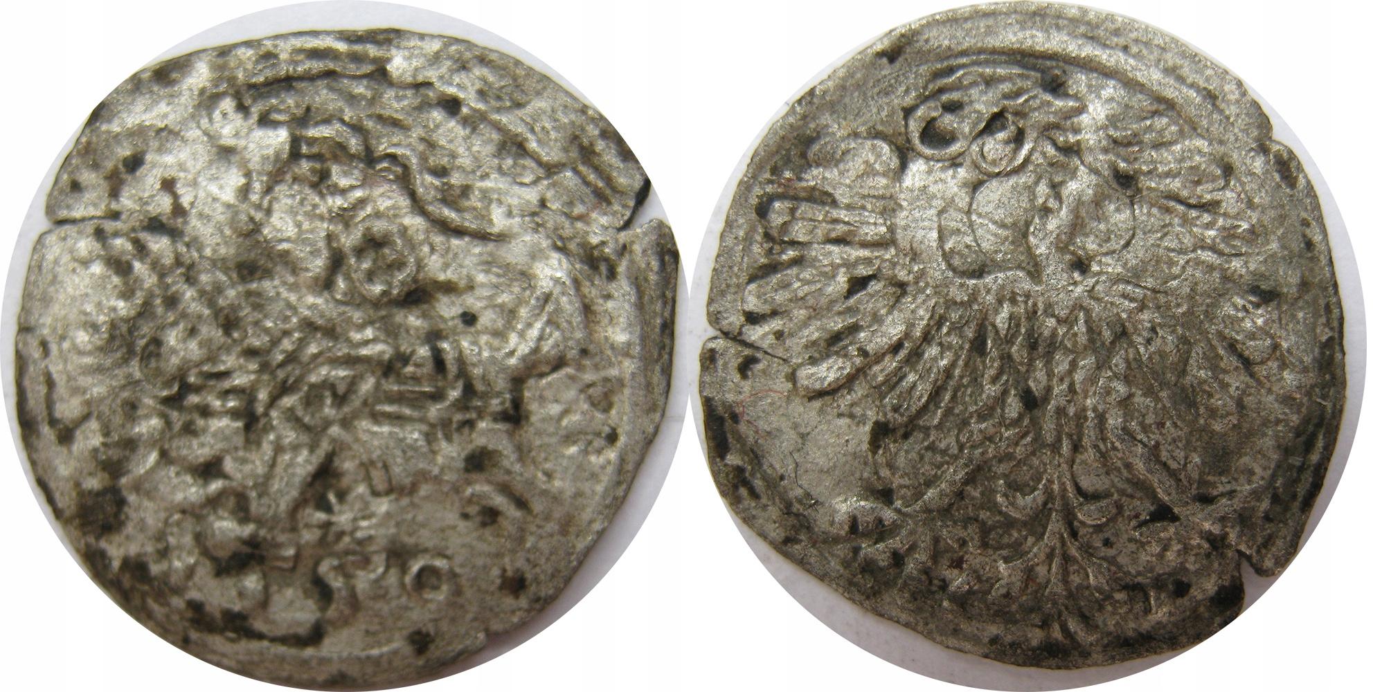 Denar 1553(7)r, Wilno