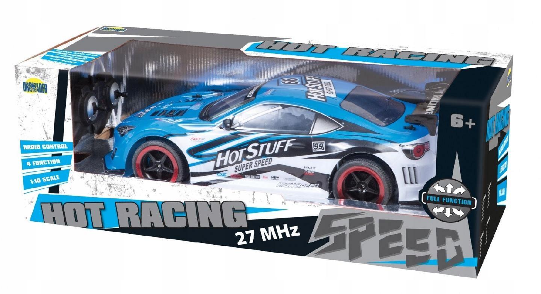 DROMADER Auto na radio Hot Racing z pakietem