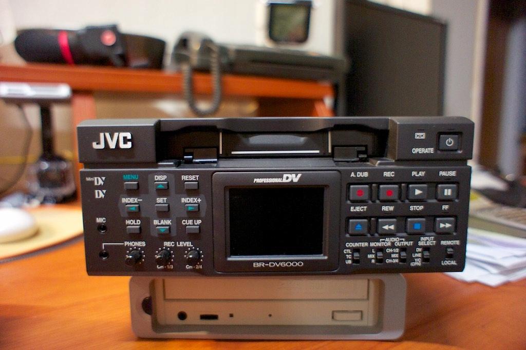 JVC BR-DV6000E DV/MiniDV VTR DVCAM player