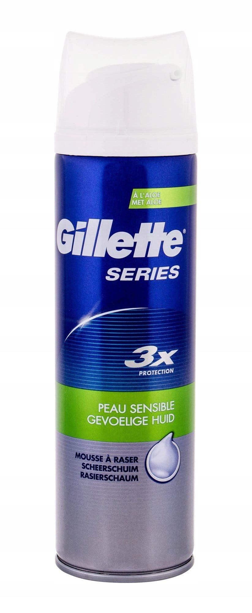 Gillette Series Sensitive Pianka do golenia 250ml