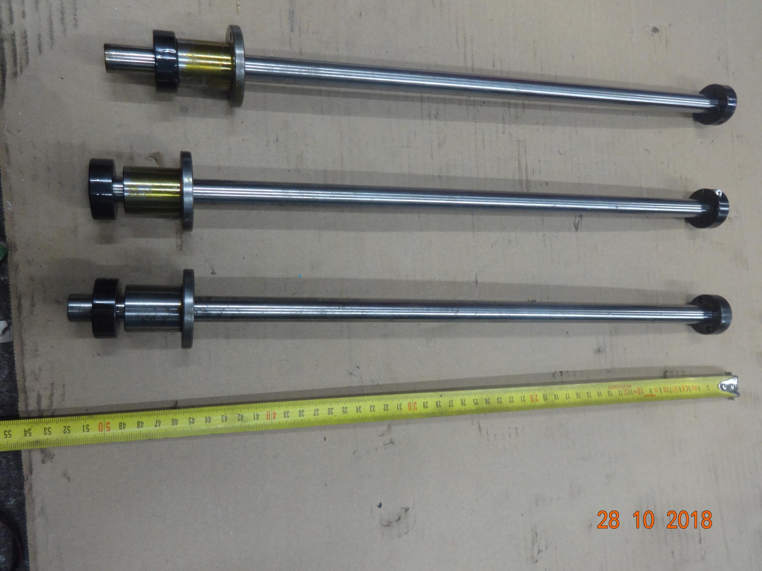 Prowadnica liniowa fi 16 L-500 mm zestaw 3 sztuki