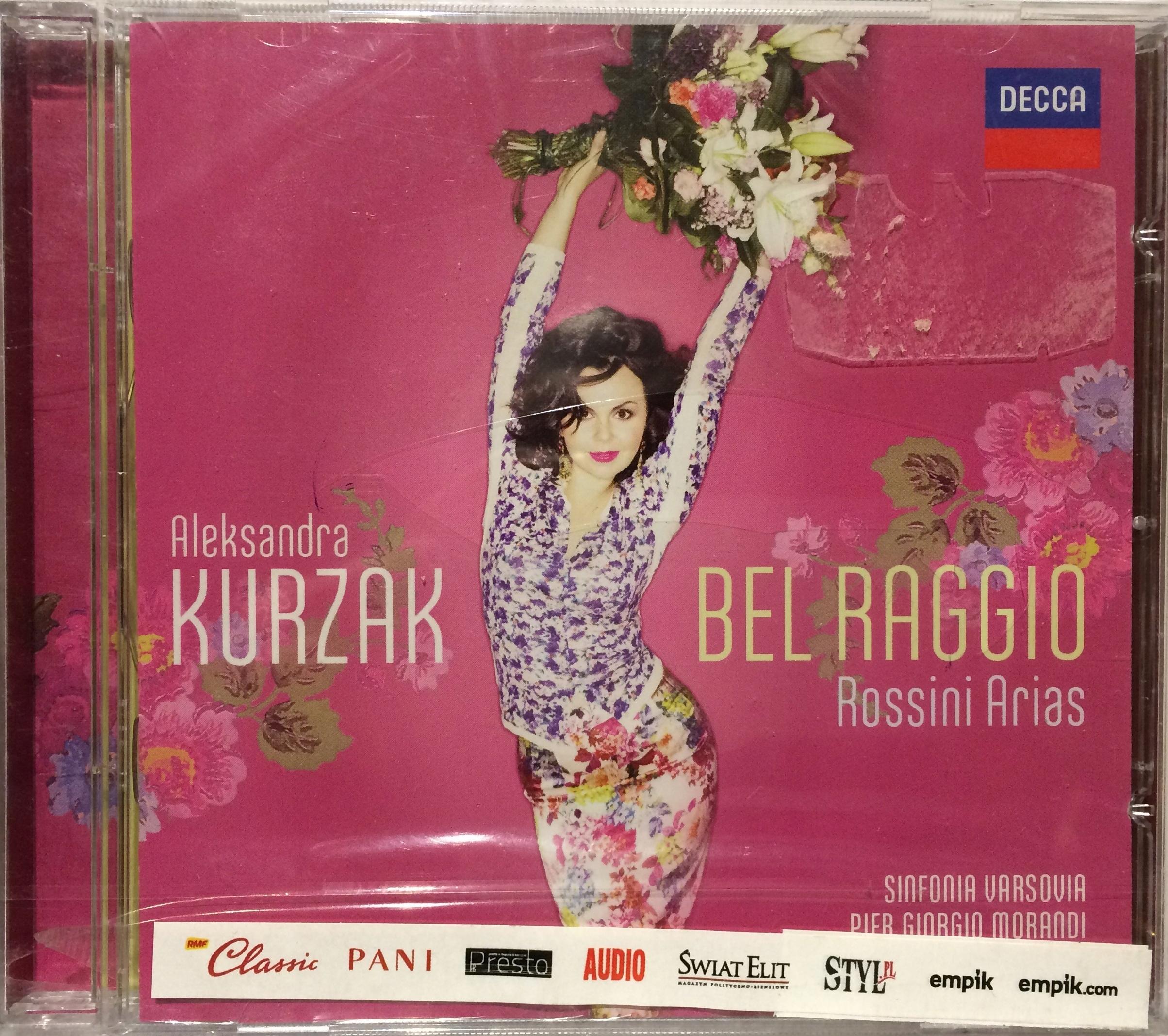 ALEKSANDRA KURZAK BEL RAGGIO ROSSINI CD FOLIA!!!