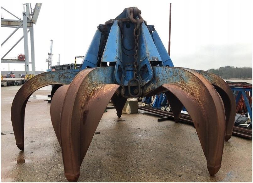 Chwytak hydrauliczny do złomu marki SWAG - 6,3 m3