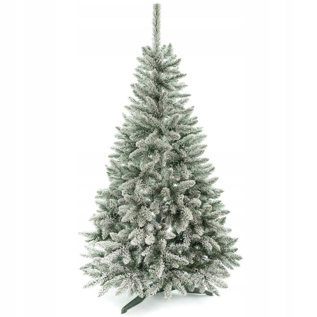 Umelý vianočný stromček Zasnežený smrek 150cm + stojan