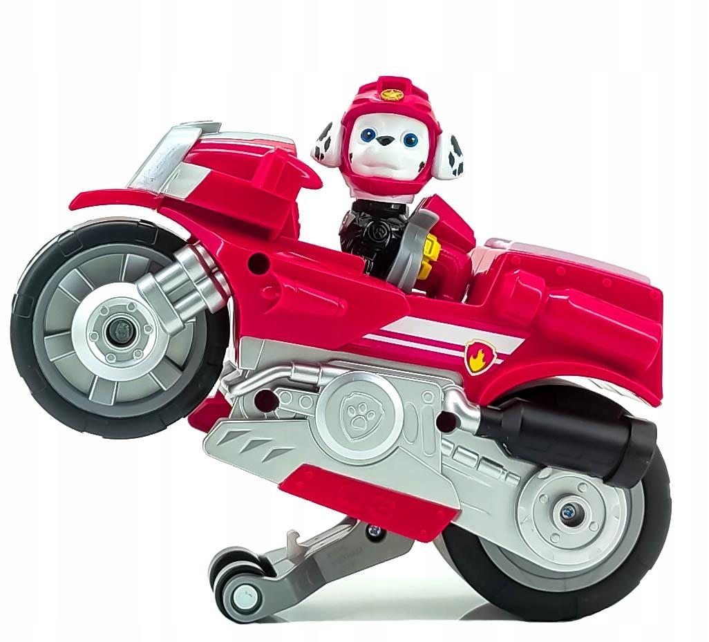 PSI PATROL MARSHALL FIGURKA I MOTOCYKL MOTO PUPS Materiał Plastik Inny