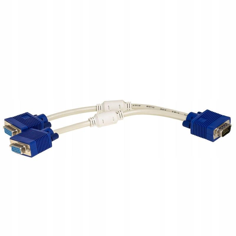 Spliter Signal Splitter VGA 2XVGA Distribútor