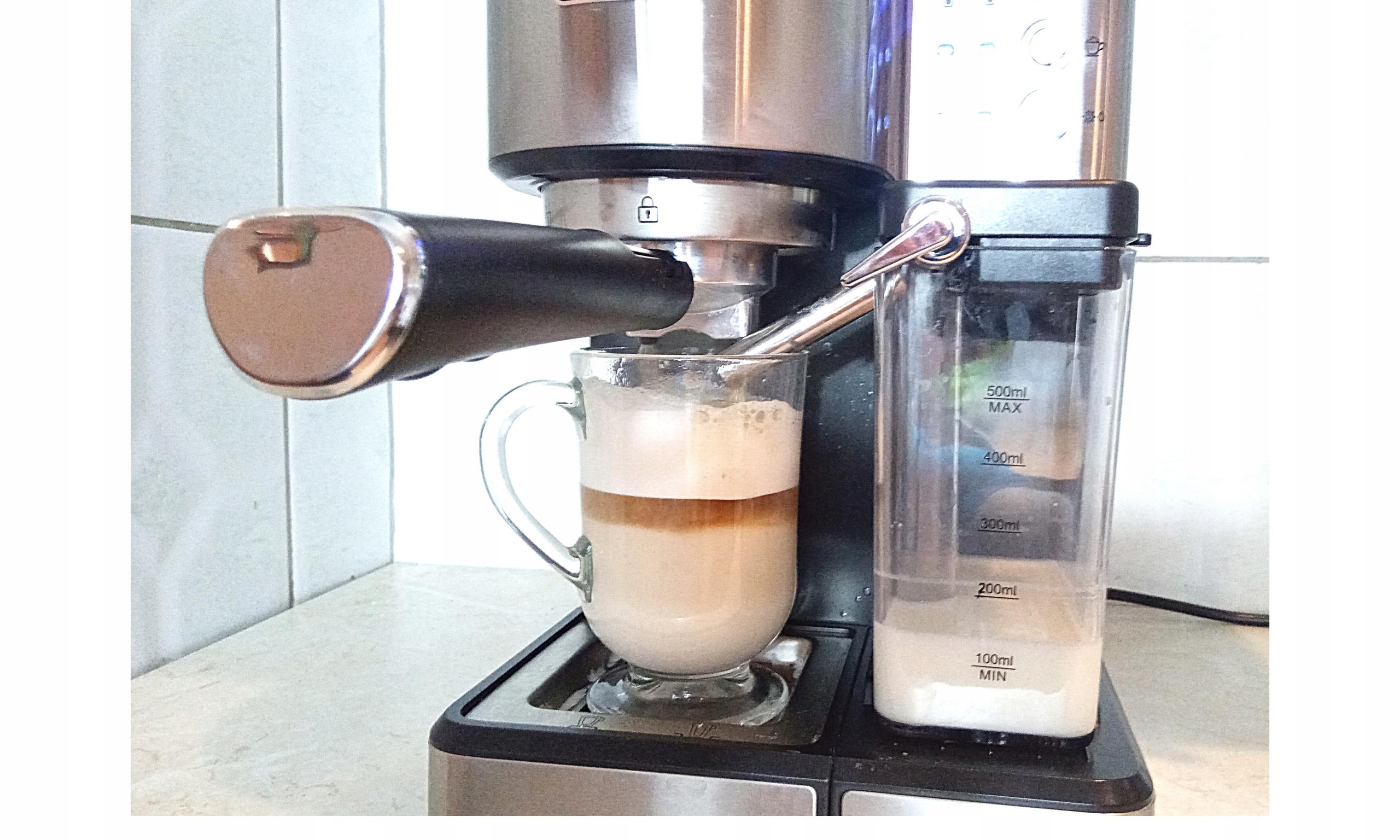 ZESTAW SZKLANKI DO KAWY LATTE Herbaty 300ml 6 szt Materiał wykonania szkło