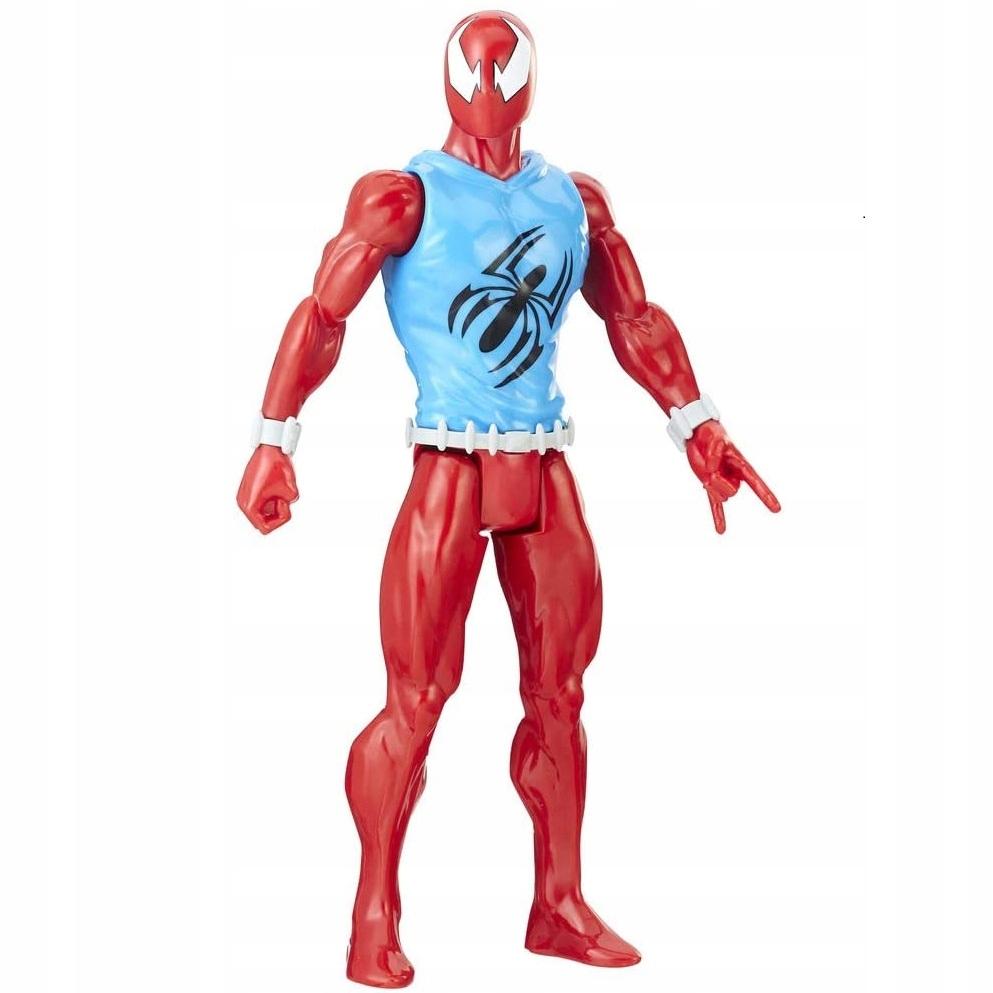 HASBRO SCARLET SPIDER SPIDERMAN RUCH. FIGURKA 30cm Marka Hasbro
