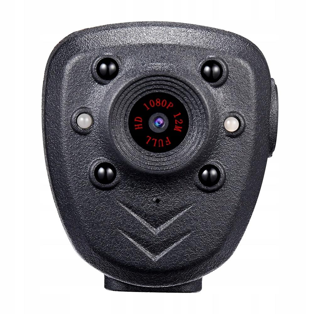 PROFESJONALNA Kamera POLICYJNA MONITORING osobisty Rozdzielczość 2 Mpx