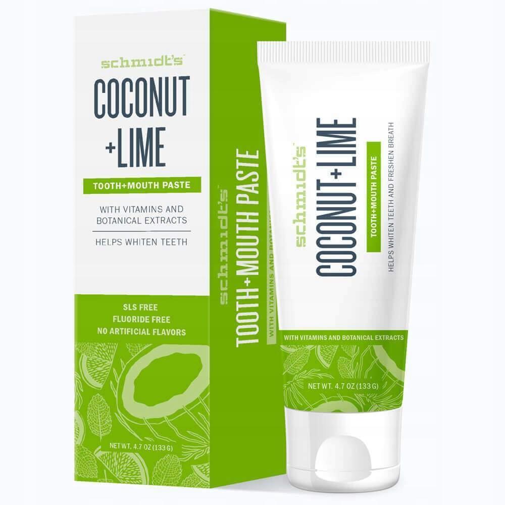 Schmidt's pasta do zębów Coconut & Lime 133g