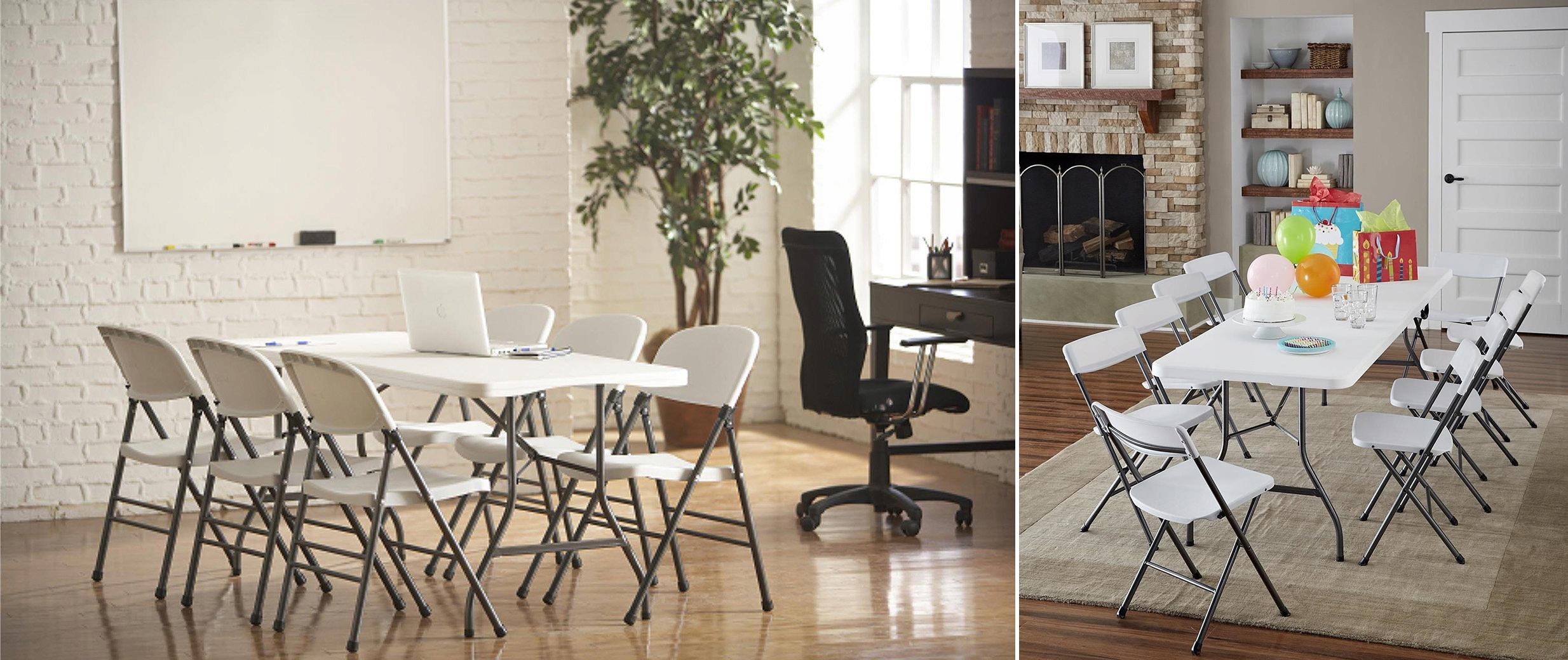 SKLADACÍ ZÁHRADNÝ STOL Premium Premium 180x74cm Line Odolné skladacie záhradné stoly