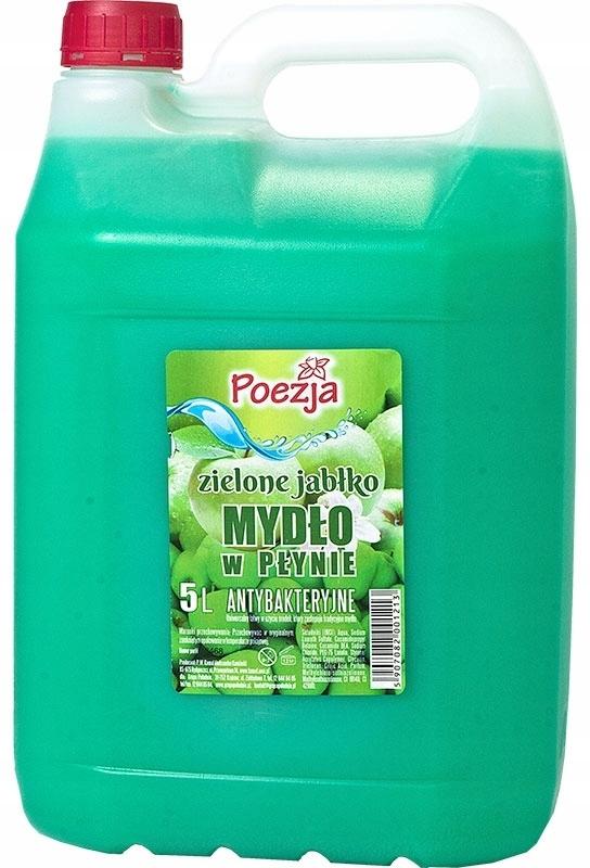 жидкое мыло 5л Поэзия зеленая яблоня