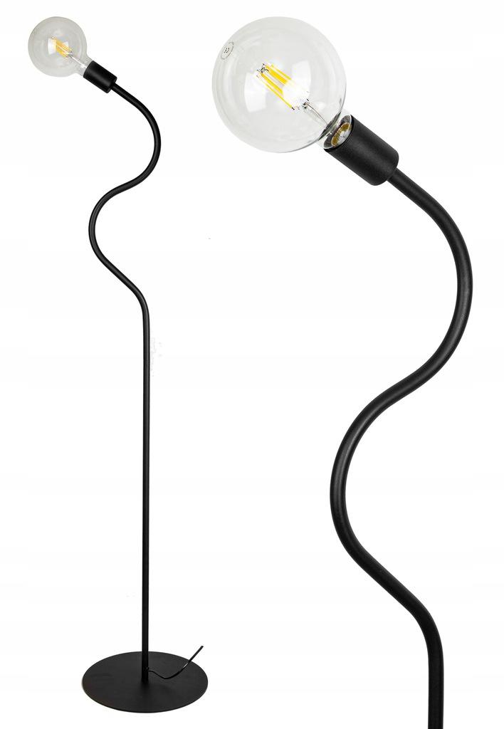Stojacia lampa RETRO EDISON LED - OSVETLENIE FIBRAMU