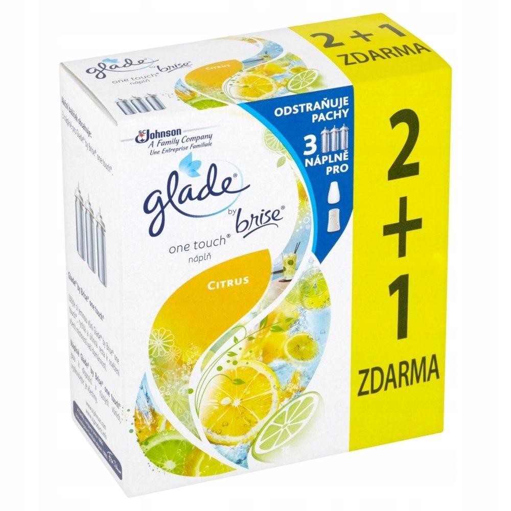 Подача для цитрусовых освежителя воздуха Glade 3х10мл