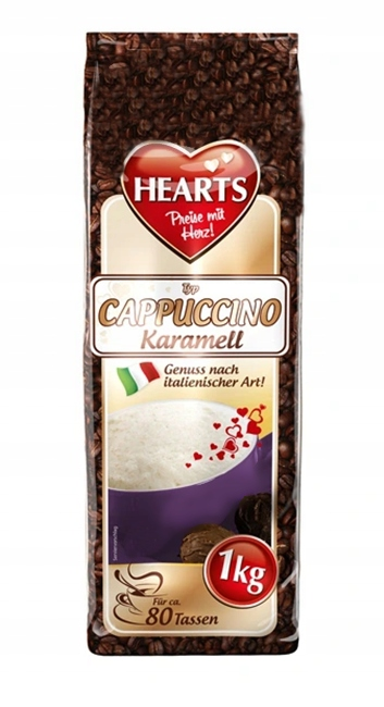 HEARTS KARMELL cappuccino 1kg