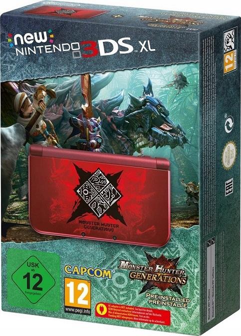 Купить НОВАЯ NINTENDO 3DS XL MONSTER HUNTER ED + ИГРА + ЗАРЯД на Otpravka - цены и фото - доставка из Польши и стран Европы в Украину.