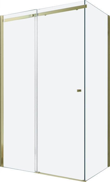 MEXENOVÁ SPRCHOVÁ KABÍNA OMEGA 110 x 70 cm ZLATÁ