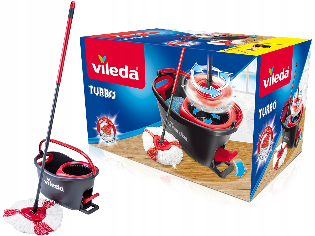 VILEDA EASY WRING AND CLEAN TURBO ROTARY MOP