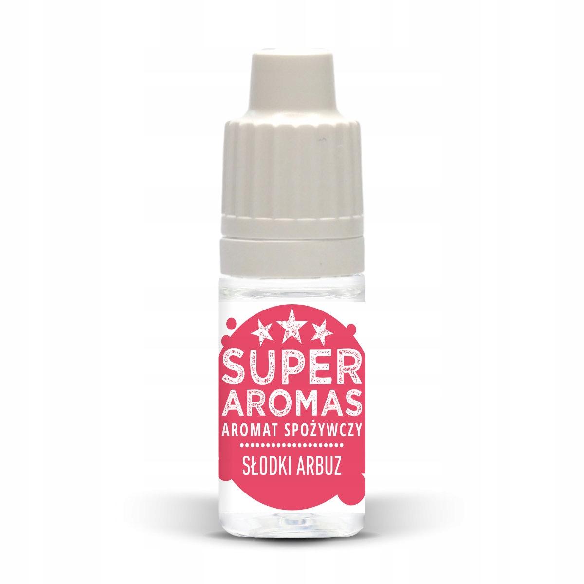 SUPER AROMAS Пищевой аромат сладкий арбуз 10 мл