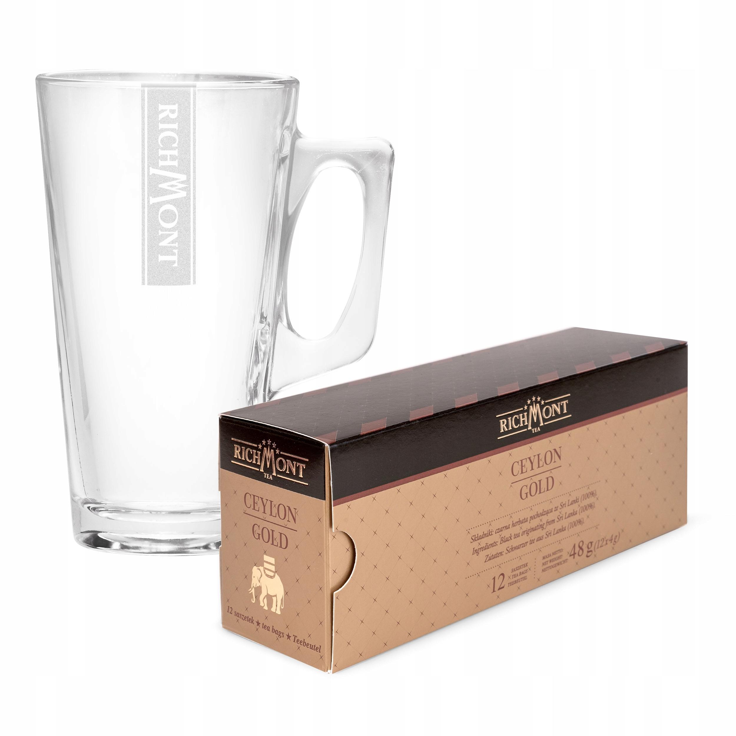 Чай Richmont Ceylon Gold 12 + ГОРЯЧИЙ стакан