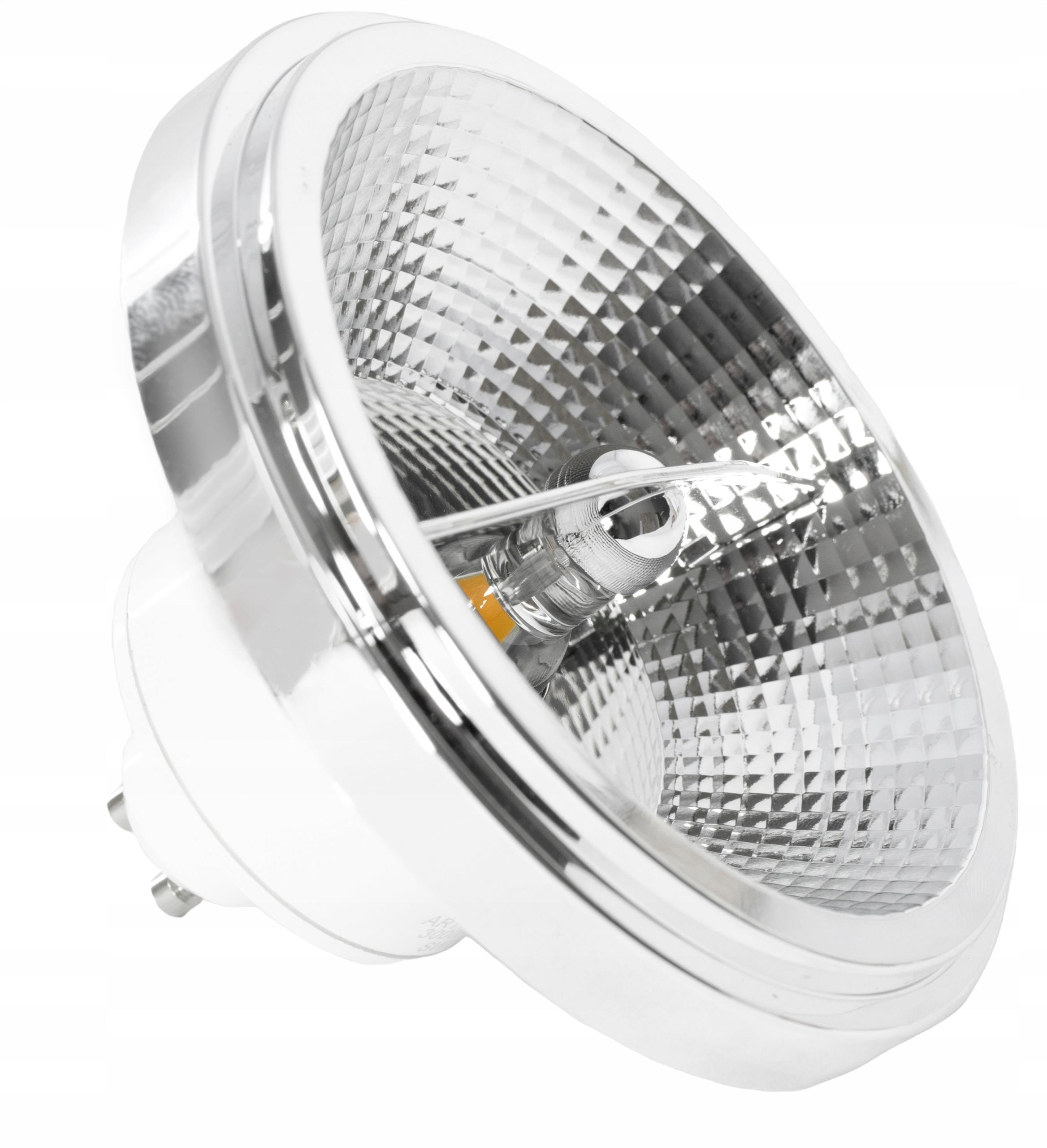 ŻARÓWKA LED AR111 12W GU10 1080lm B. NEUTRALNA