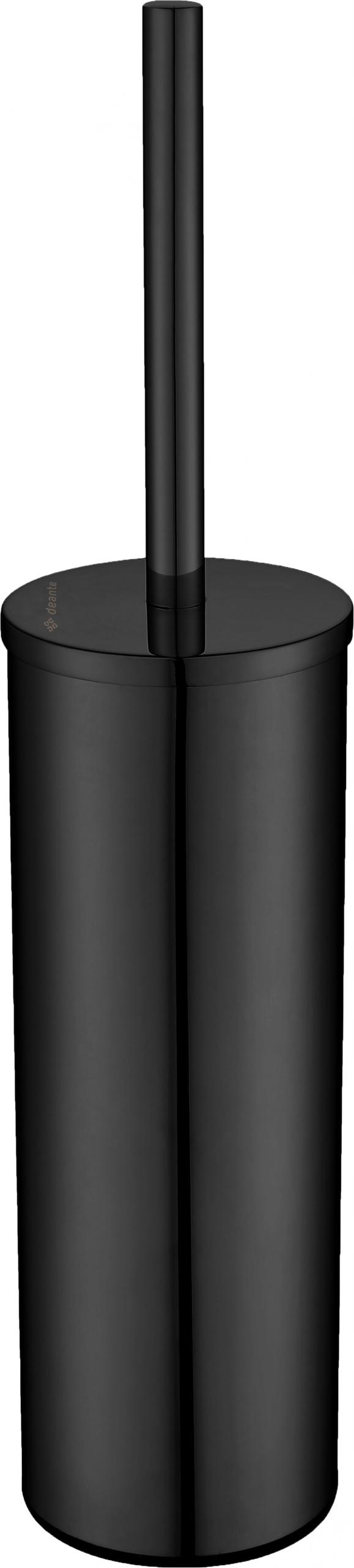 Okrúhla nádoba na toaletnú kefu, čierna ADR N712 Deante