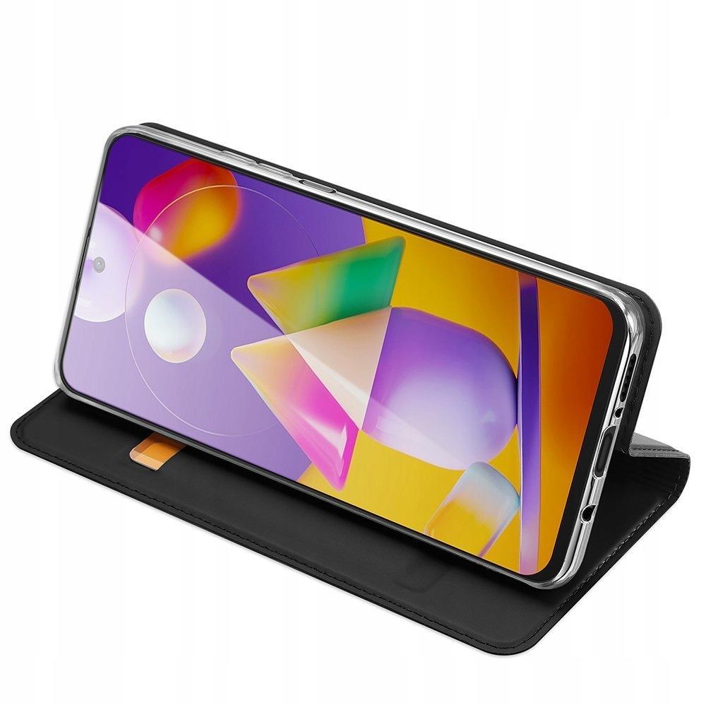 Etui DUX DUCIS + szkło do Samsung Galaxy M31s Rozszerzenie podstawka