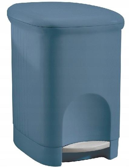Meliconi корзина для мусора Square Blue 16l