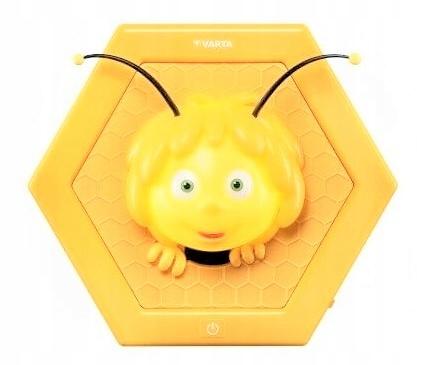 LAMPKA NOCNA NA ŚCIANĘ Pszczółka Maja 3D PREZENT