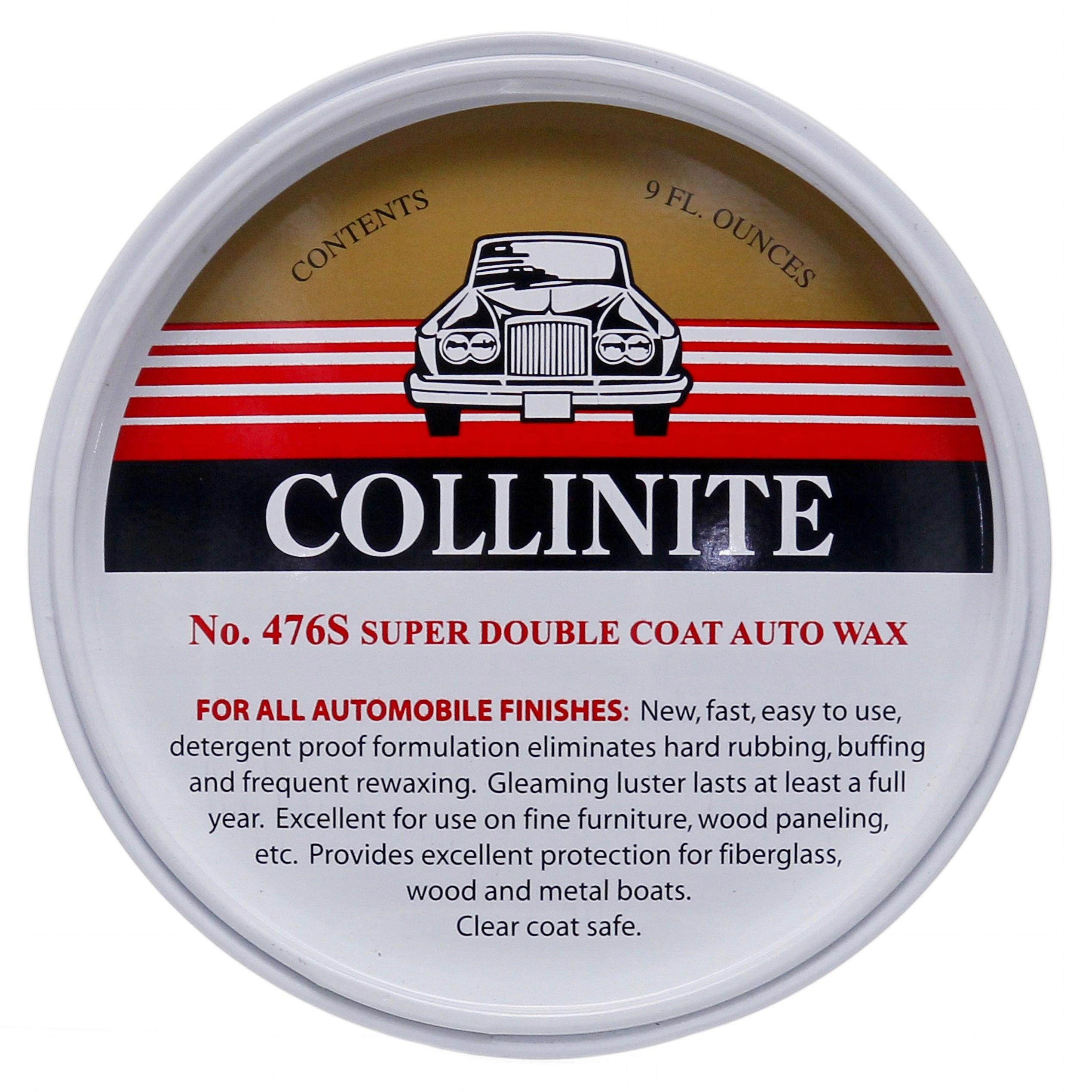 Collinite 476 Супер DoubleCoat Wax ЛЕГЕНДАРНЫЙ ВОСК