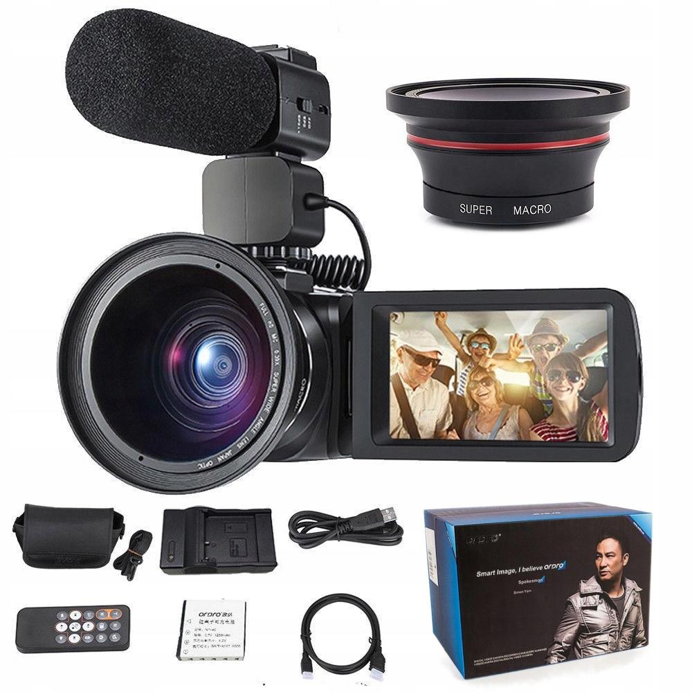 Kamera Cyfrowa HDV-Z20 Fhd WiFi Zoom Ir Pilot Pl