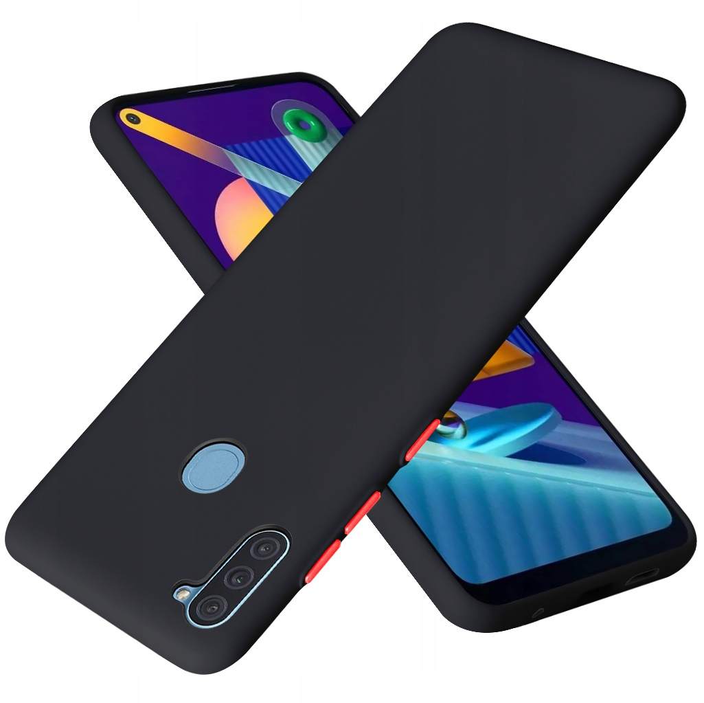 Etui do Samsung Galaxy M11 Case Silikon + Szkło 9H