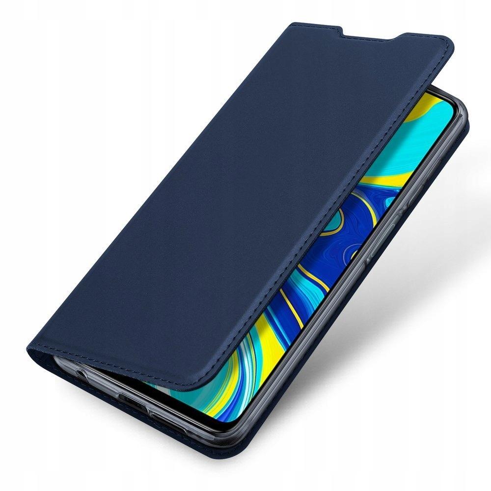 Etui + Szkło Xiaomi Redmi Note 9 Pro, Pro Max / 9S Kolor niebieski