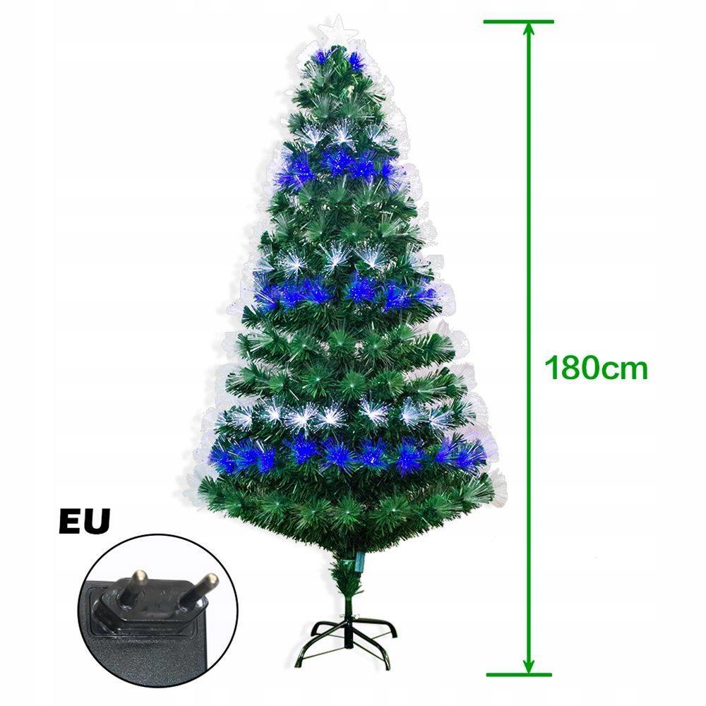 Prémiový osvetlený umelý vianočný stromček 180 cm
