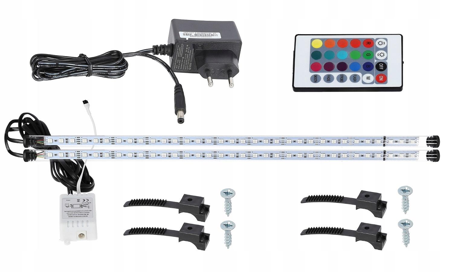 Žiarivka LED RGB akvárium pilot 2x180cm A+A
